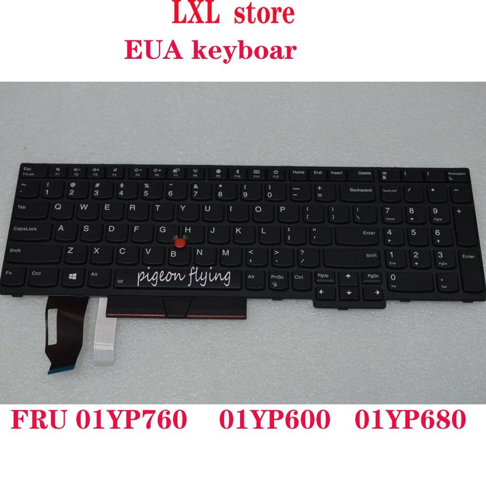 20KS 20KT para lenovo Thinkpad E580 teclado para portátil inglés EUA Backlight FRU 01YP760 01YP600 01YP680 P/N SN20P3