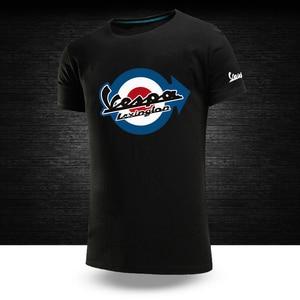 Vespa Logo New Custom 2021 Comfortable Summer Solid Color 100%Pure Cotton Tops Movement Casual Short Sleeve T-Shirts Korra