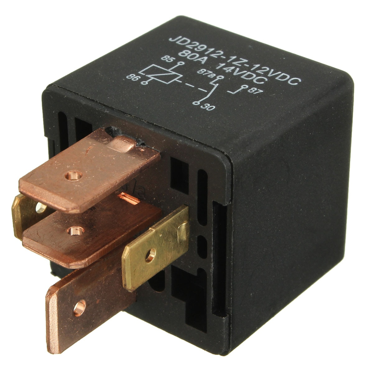 4pin 5pin 12 v 48 v automotivo 80a amp à prova dwaterproof água barco spotlight van comutação do carro relés interruptor de controle do carro dispositivo