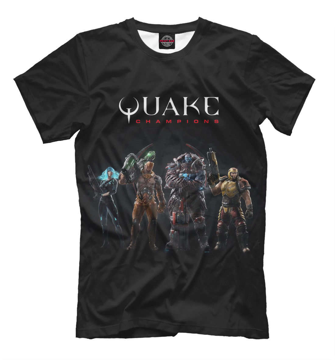 Camiseta Quake-videojuego shooter old school camiseta para jugador Cool Casual pride camiseta hombres Unisex camiseta de moda envío gratis