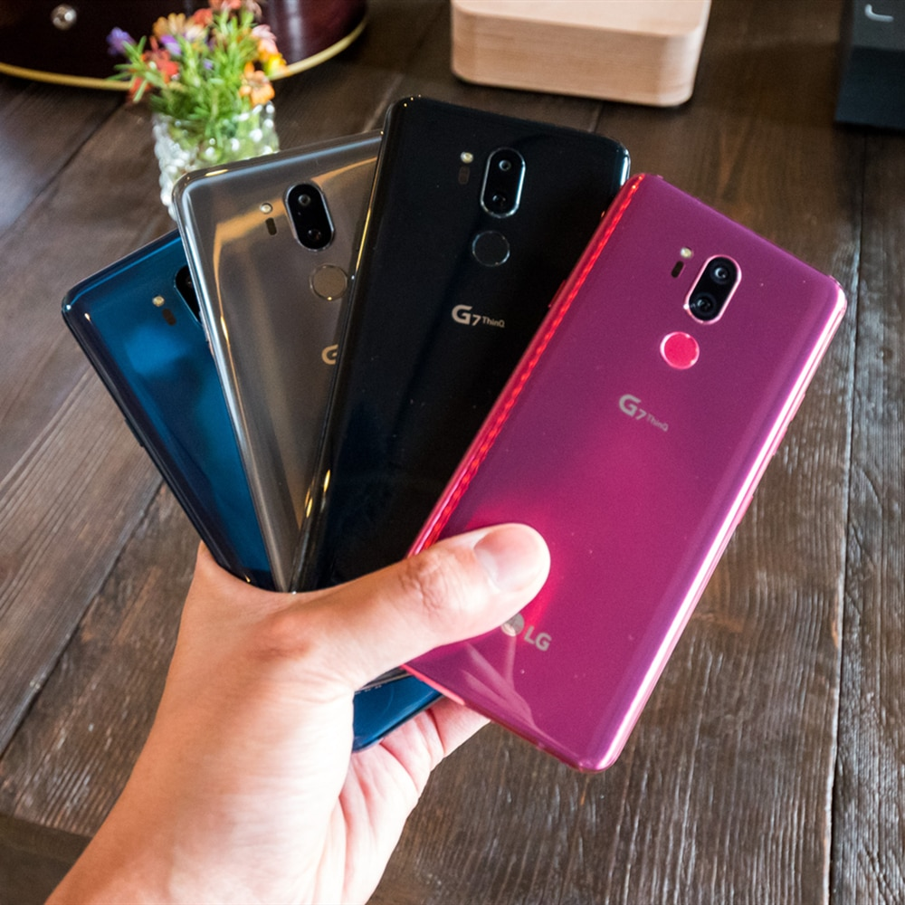 Фото5 - Восстановленный Смартфон LG G7 ThinQ G710N G710VM G710U, разблокированный мобильный телефон, экран 6,1 дюйма, 4 Гб ОЗУ 64 Гб ПЗУ, Восьмиядерный 16 Мп, 4G LTE, на б...