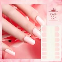 full wrap nail polish stickers self adhesive full cover nail art stickers nail decal strips with nail file for women girls