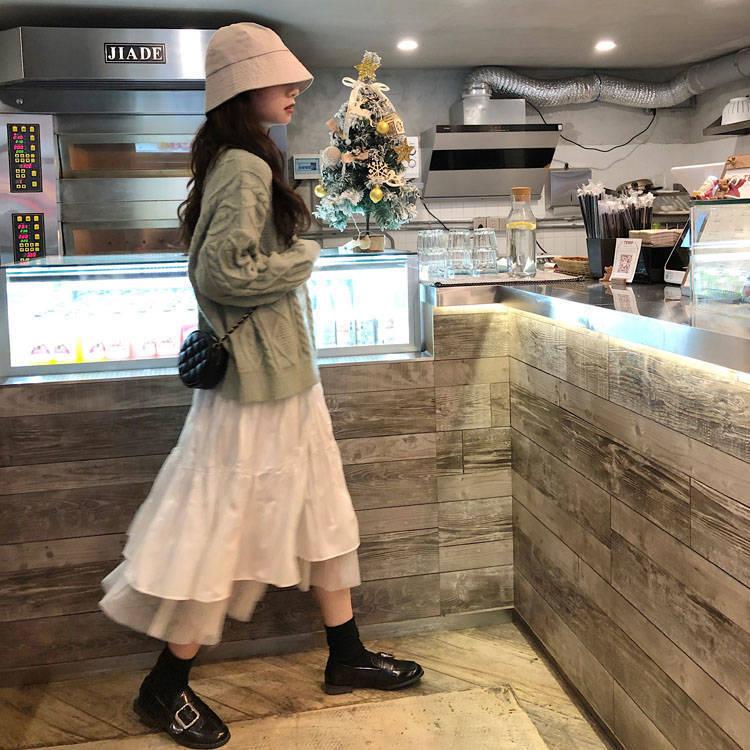 Long Tulle Skirts For Women high waist skirt Elastic Mesh pleated skirt White Sexy korean pleated skirt women's skirt 2021