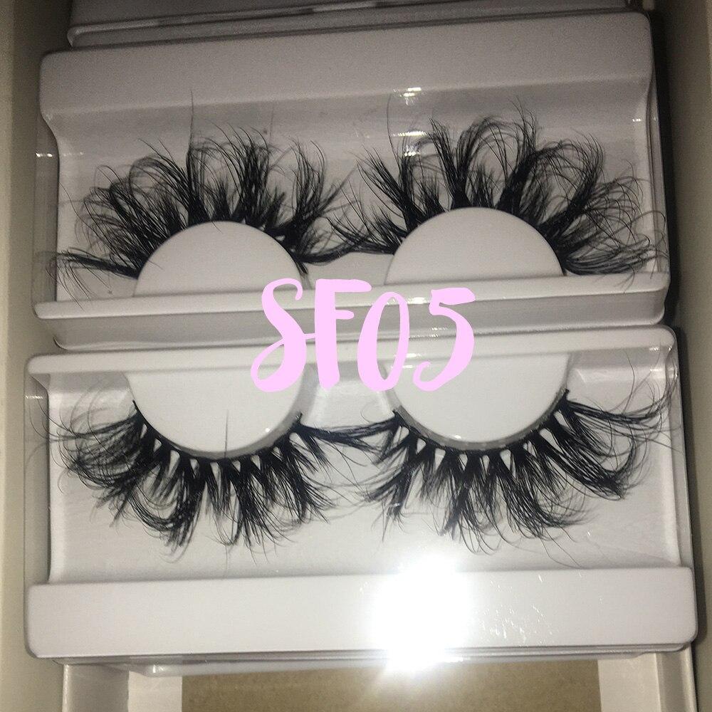 Bossgirl vison cílios 25mm fofo vison cílios fofos vison cílios em massa vison super wispy reutilizável lindo maquiagem