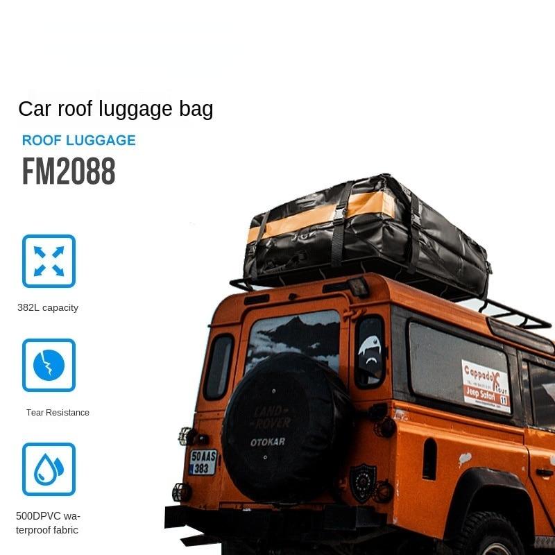 Stroller bag all waterproof car roof bag waterproof bag luggage bag SUV general large capacity luggage bag