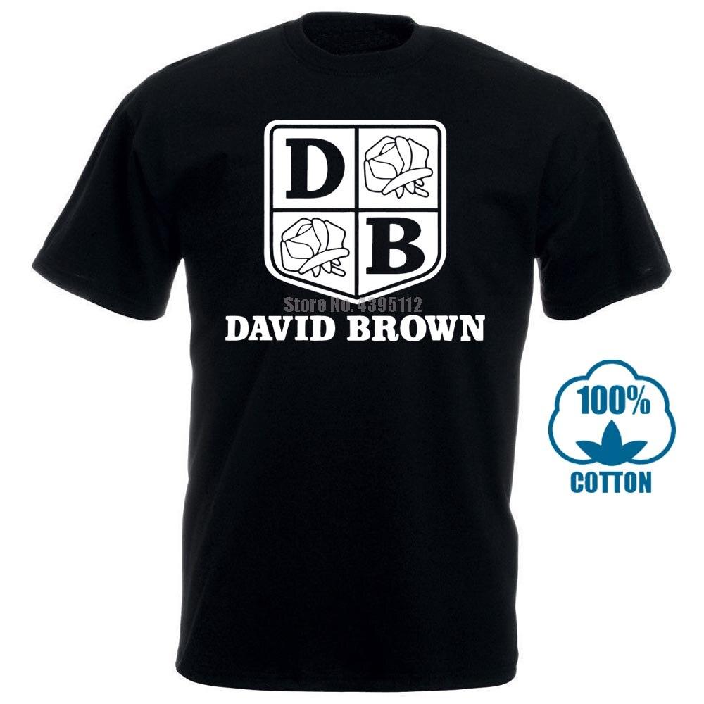 Футболка Летняя новинка футболка с героями мультфильмов Herren футболка Давид коричневый I Traktor I Spruche I Fun I Lustig Bis 5Xl