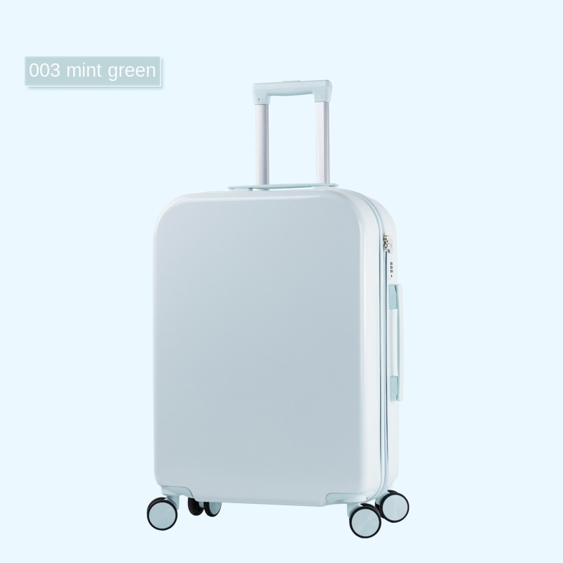 Boarding suitcase, suitcase, small 20-inch trolley case, password box, unisex business travel, business travel suitcase, luggage