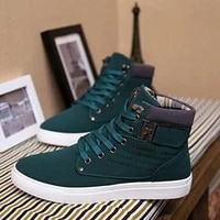 mens vulcanized shoes springautumn men shoes high quality frosted suede casual shoes platform shoes