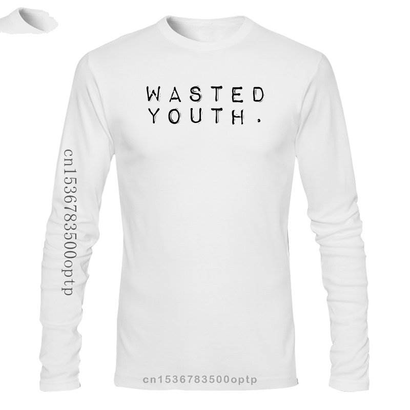 New WASTED YOUTH HIPSTER SCENE PUNK ROCK SWAG SCENE EMO GOTH MENS T-SHIRT TEE Funny Short Sleeve Cotton T-Shirts