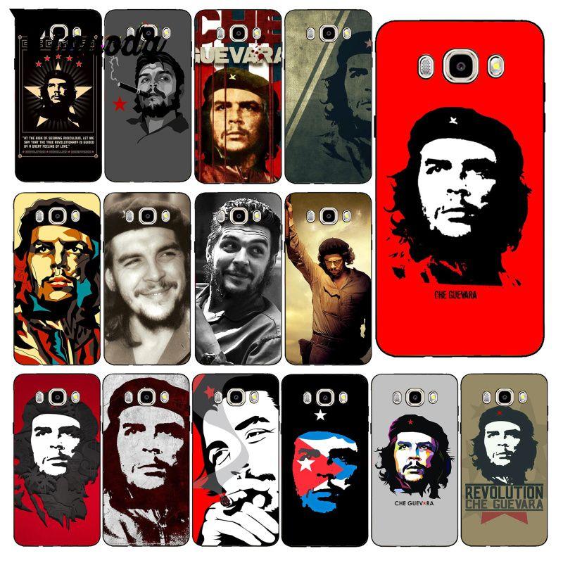 Чехол для телефона Yinuoda che guevara Smoking Guevara, лидер сигар, чехол для samsung Galaxy J7 J6 J8 J4 J4Plus J7 DUO J7NEO J2 J7 Prime