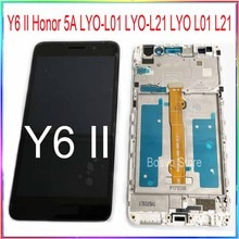 Voor Huawei Y6 Ii Compact Honor 5A LYO-L01 LYO-L21 Lyo L01 L21 Lcd Touch Screen Met Frame