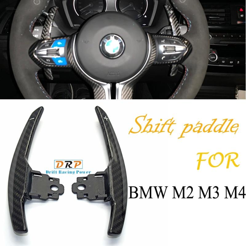 1 set Carbon shift paddle for BMW F36 F21 F22 F32 F30 F02 F80 F11 F06 F20 F23 F10 F12 F26 F15 M3 M4 M5 M6 Steering Wheel