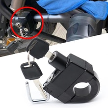 Moto accessoires antivol casque serrure sécurité pour Honda CB125R CB150R CB190R CB250R CB300R CB400 CB500X CB500R