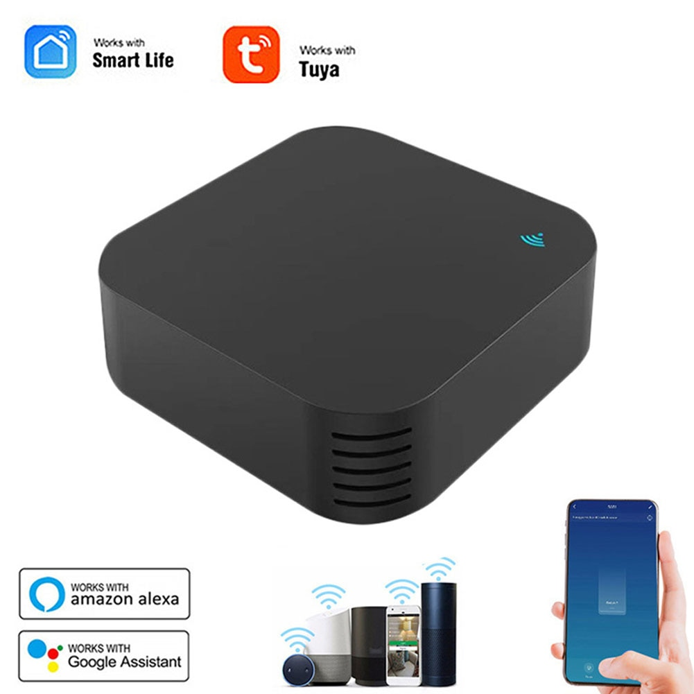 S06Pro IR Remote Control Smart WiFi Universal Infrared Tuya App Control for Air Conditioner TV DVD Temperature Humidity Works top class universal car air suspension control system with pressure sensor support bluetooth remote and wire control app control