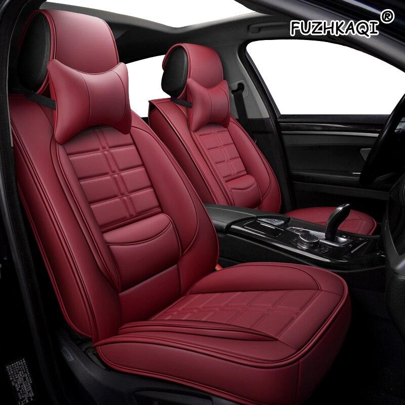 Auto Pu Leather Car seat covers For mitsubishi pajero 4/3 sport kia sorento toyota harrier daewoo lanos audi tt car seat cushion