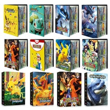 2021 New Pokemon Cards Album Book Cartoon Anime New 240PCS Game Card VMAX GX EX Holder Collection Fo
