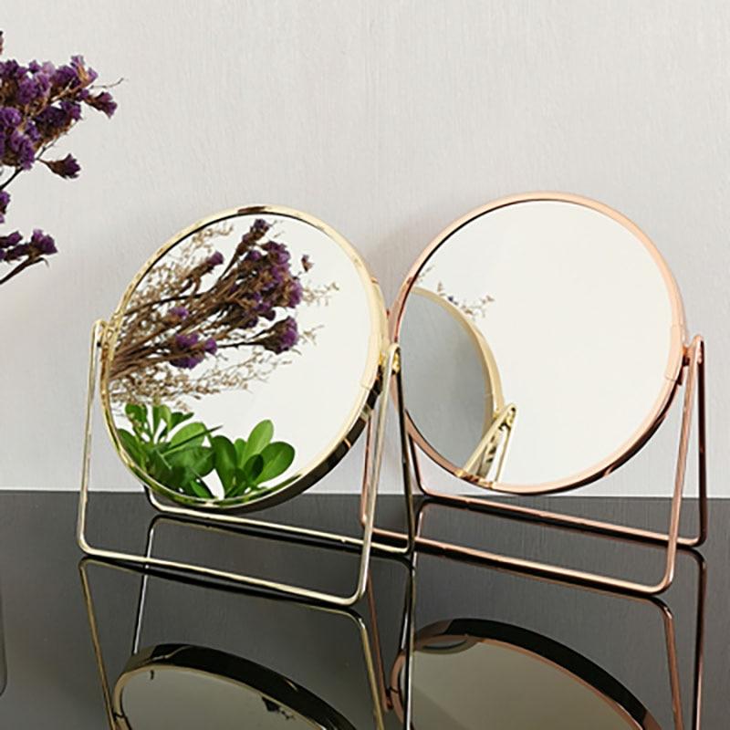 Espejo decorativo Miroir para decoración De Pared, Mural nórdico para dormitorio y hogar