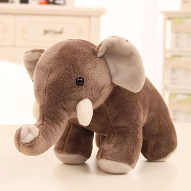 Plush Toy Elephant Rhino Hippo Doll Wedding Gift Doll Machine Doll Creative Child Gift Birthday Gift Home Decoration       Sp092