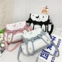 summer bag women japanese style high school girls shoulder bag kawaii bunny ears crossbody bags women messenger bag girls gift