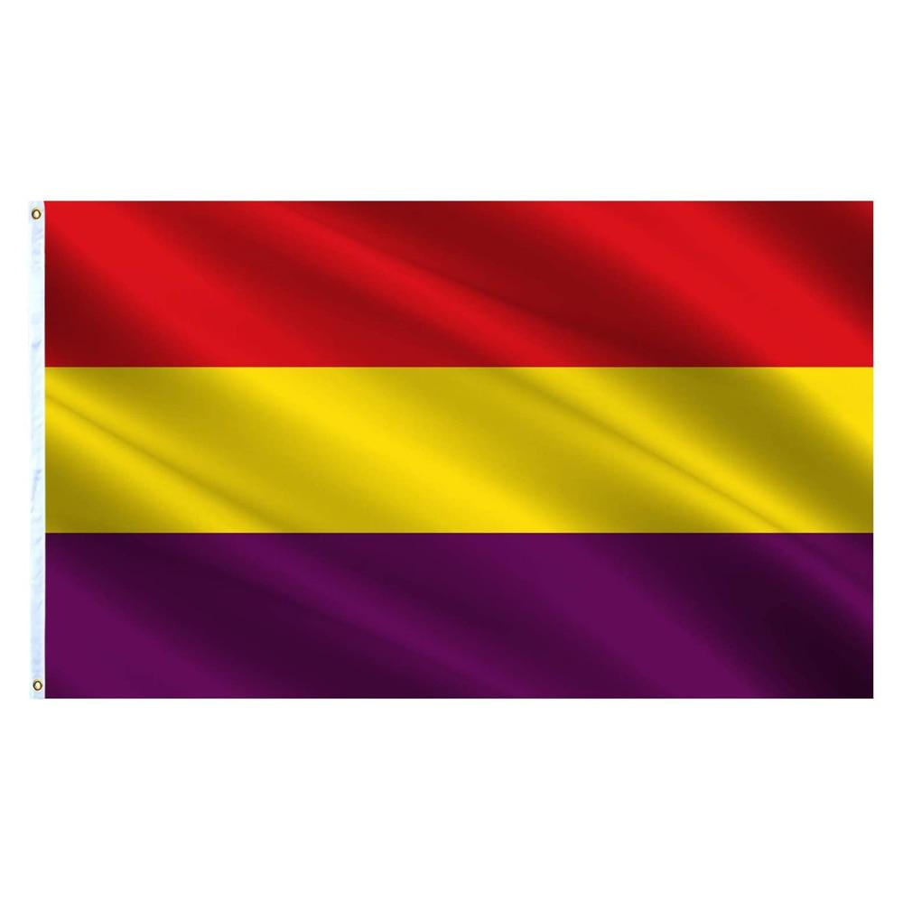 Flagnshow 2X3/3X5 футов Испанский флаг республиканской Республики эспана военный постер баннер флаги Испании