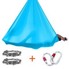 Yoga hamac ensemble 7M Anti gravité Inversion aérienne équipement de Yoga balançoire Air Yoga lit soie Kit avec accessoires