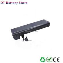 Free shipping Electric bike battery rear rack type lithium ion 36v 8.8ah 10ah 12ah 14.5ah 16ah 17.5ah for 250w 350w 500w motor