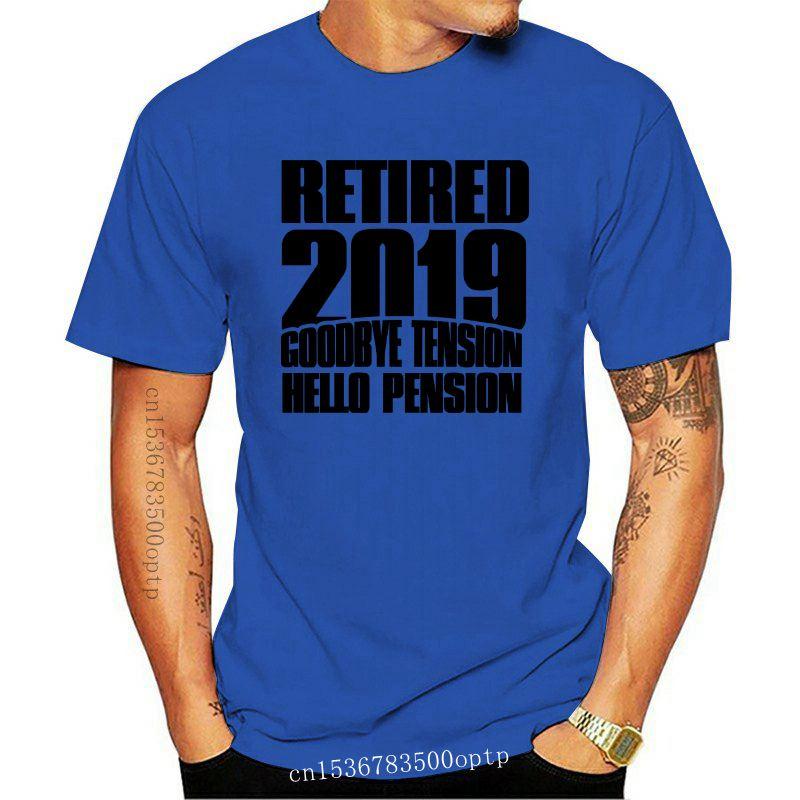 Retired 2020 Mens Funny Retirement T-Shirt Pensioner 65th 68th Birthday