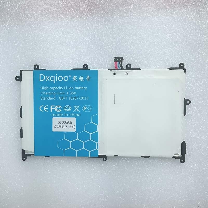 Аккумулятор 6100mah для samsung Galaxy Tab 8,9 GT-P7300 P7310 P7320 SP368487A (1S2P)