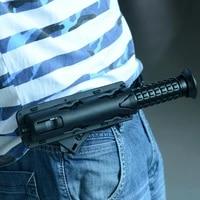 new universal 360 degree rotation baton case black tool self outdoor holder safety survival defense edc kit holster d2o1