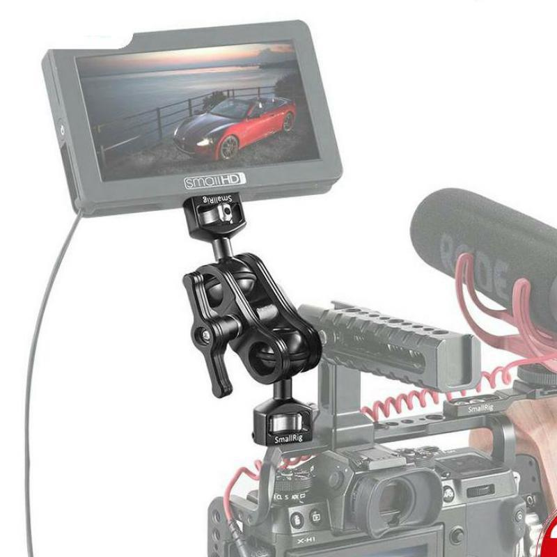 """SmallRig Quick Release Articulating Arm with Double Ballheads 1/4"""" Screw Adjustable Light Weight Adapt For Monitor Support 2070 enlarge"""