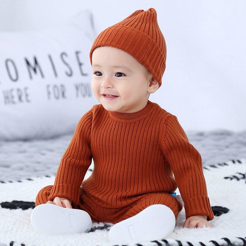 3 шт., Детские Зимние трикотажные шапки, унисекс