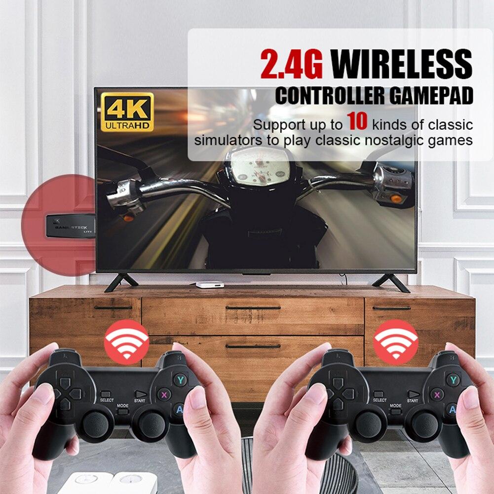 Y3 لايت اللاسلكية ريترو HDMI متوافق لعبة فيديو وحدة التحكم مع تحكم المحمولة المحمولة لعبة لاعب دعم ل PS1/FC/GBA