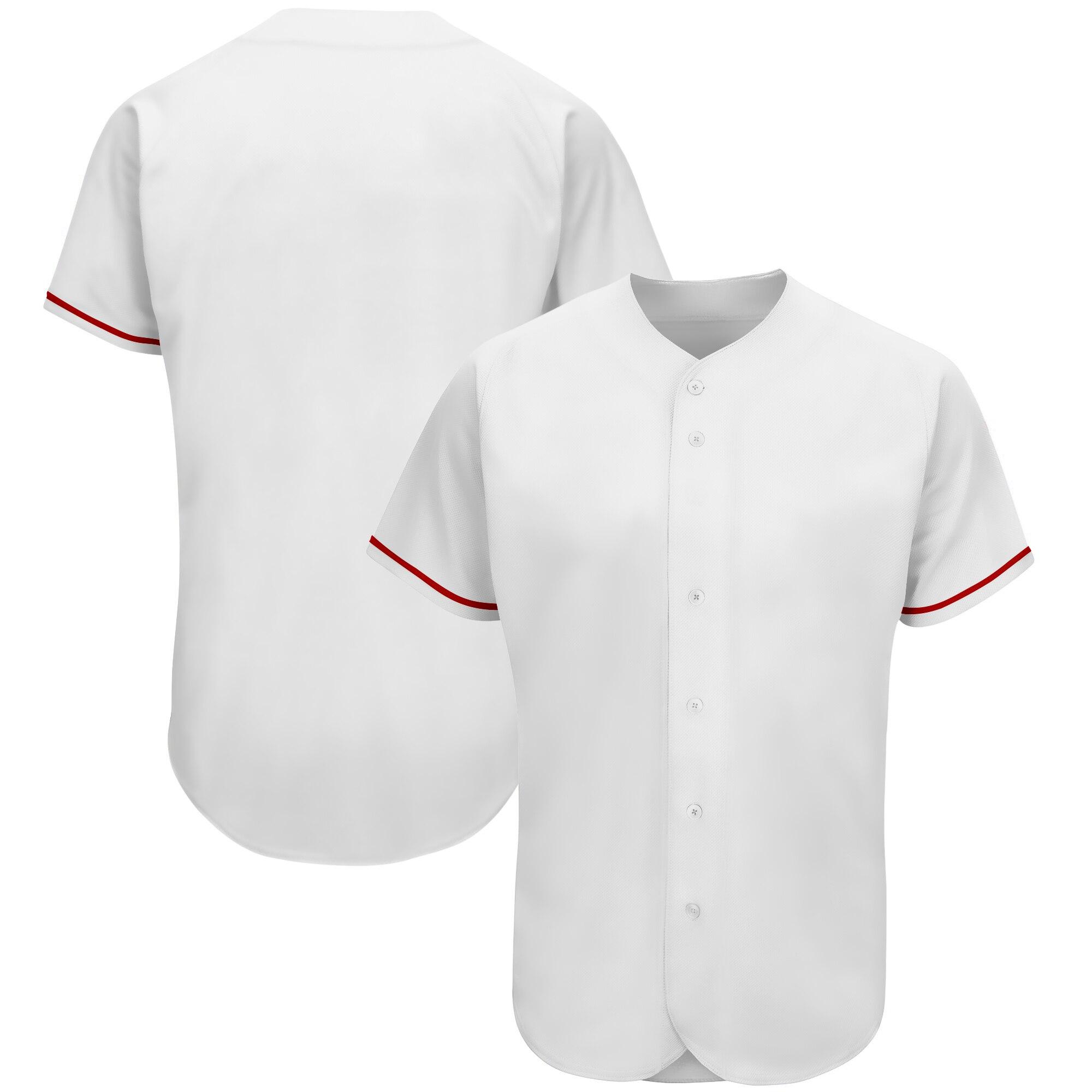 Недорогая бейсбольная Джерси для мужчин, американская форма с номером и именем стежка, спортивные рубашки для Софтбола, униформа для болель...