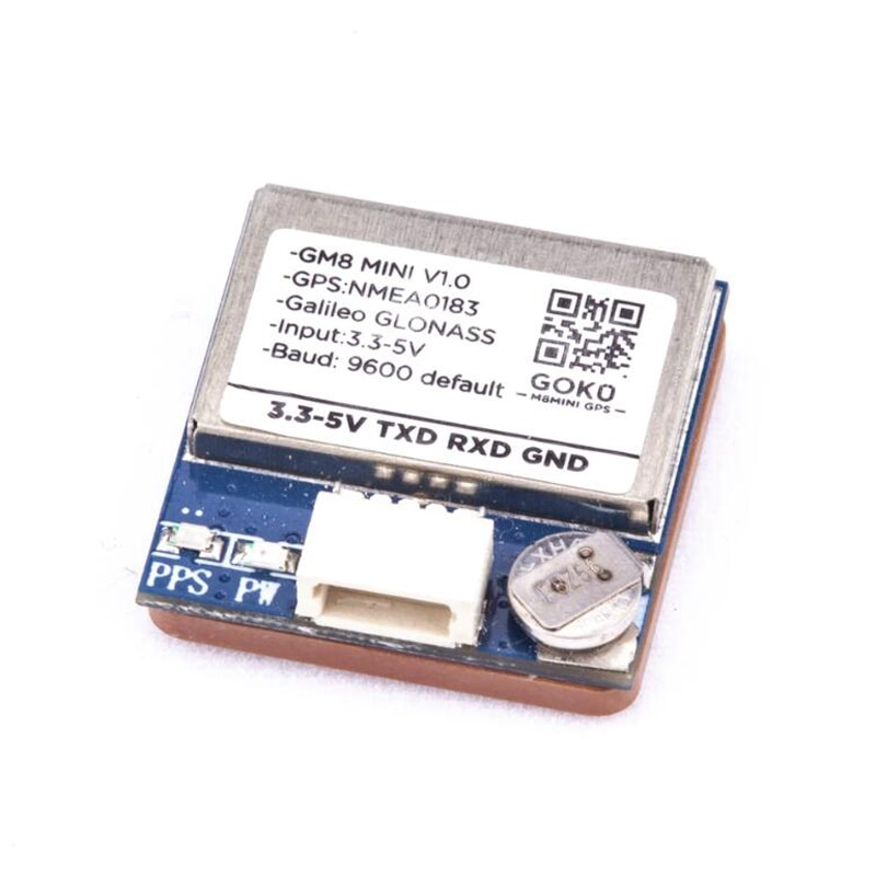 Hot Sale FLYWOO GM8 MINI V1.0 GPS 72 Searching Channel GLONASS Module For RC Drone Quadcopter Multir