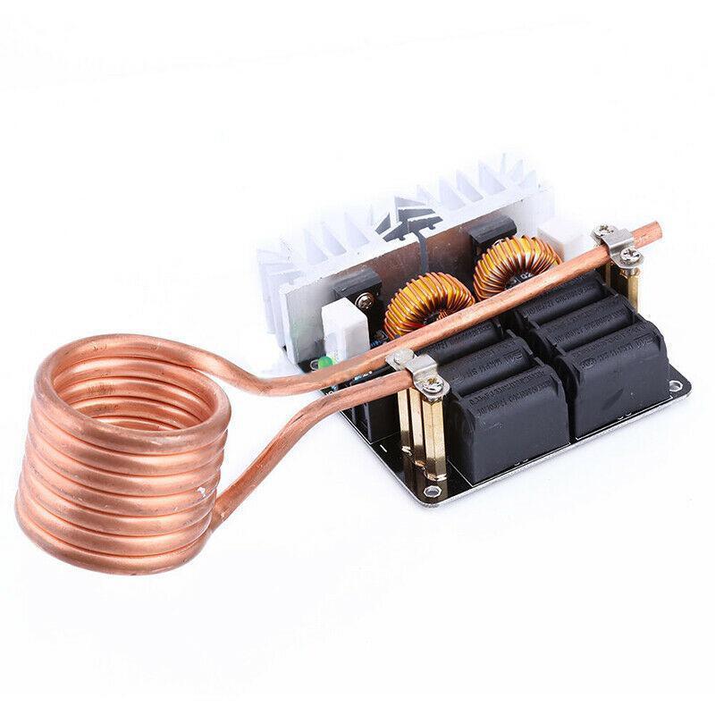 1000 w zvs módulo de placa de aquecimento por indução de baixa tensão flyback driver aquecedor diy