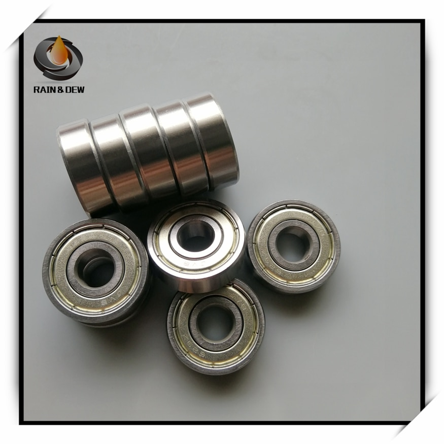 10Pcs 629ZZ Bearing ABEC-7 9x26x8 mm Miniature 629Z Ball Bearings 629 ZZ EMQ Quality