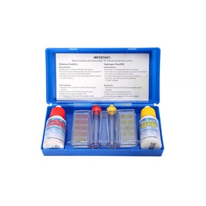 1 Набор плавательный бассейн специальный Тесты набор аксессуаров для PH жидкости контроль качества с защитной коробкой водяного компонент Тесты хлора для очистки сточных вод K6Y9