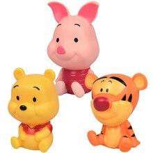 Disney dessin animé Winnie lourson Mickey Mouse Minnie figurines jouets décoration gâteau décoration poupées cadeaux de noël pour les enfants