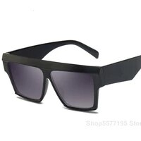 2020 new square sunglasses women men big frame fashion retro mirror sun glasses brand vintage lunette de soleil femme
