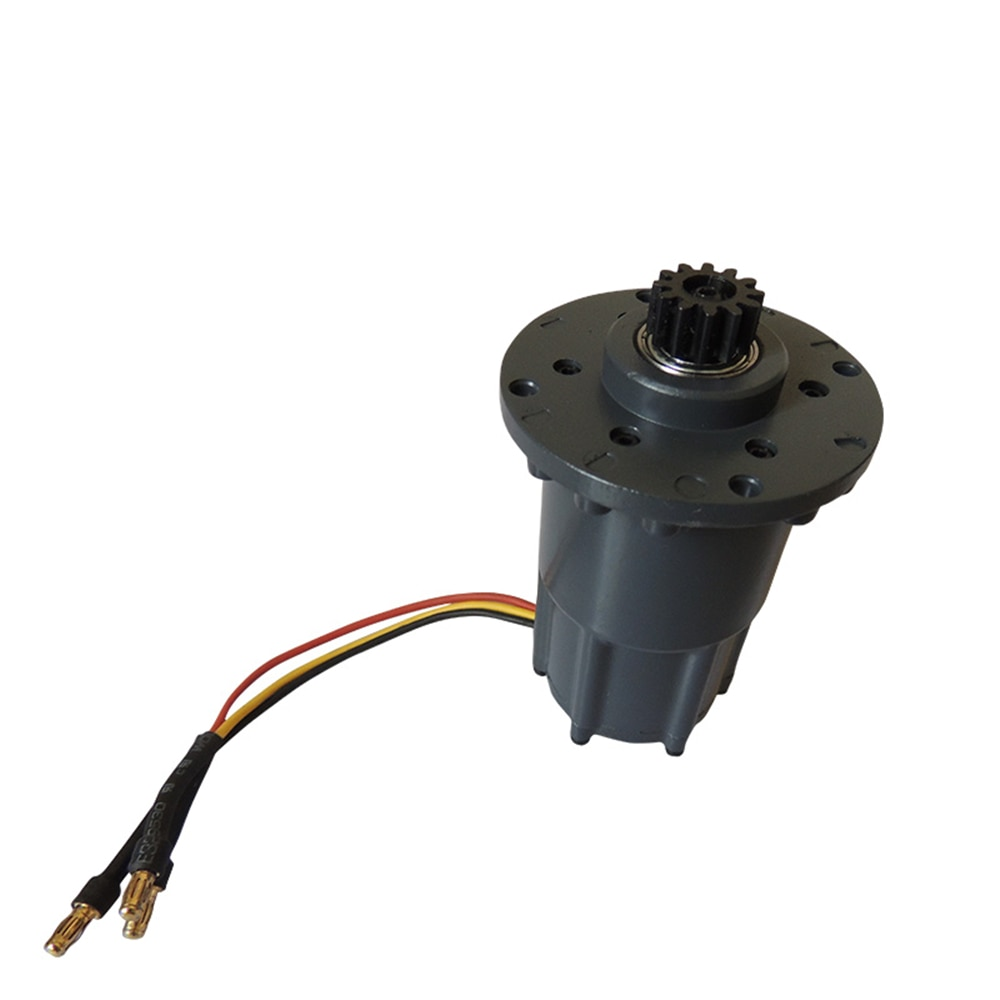 Rc Mini Toy Excavator Metal Steering Motor Fit For 1/12th Scale Remote Control Hydraulic Excavator Model