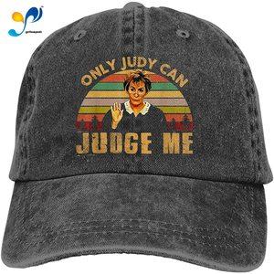 Only Judy Can Judge Me Cowboy Cap Baseball Hat Casquette Headgear