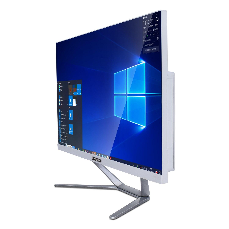 Touch Screen 23.8inch Monoblock All-in-One Compact PC Intel Core i5 8365U I7 8565U HDMI VGA 1920x1080 Desktop Office Computer