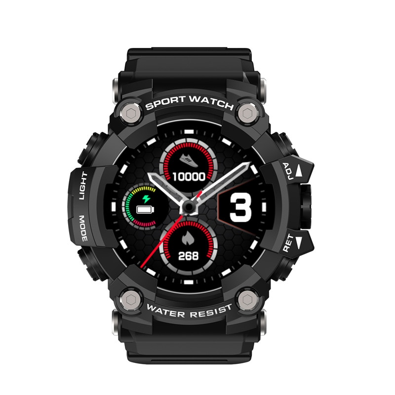 Comfortable T6 Three-Proof Smart Sports Watch, Bluetooth Connection To Mobile Phone IP68 Depth Water