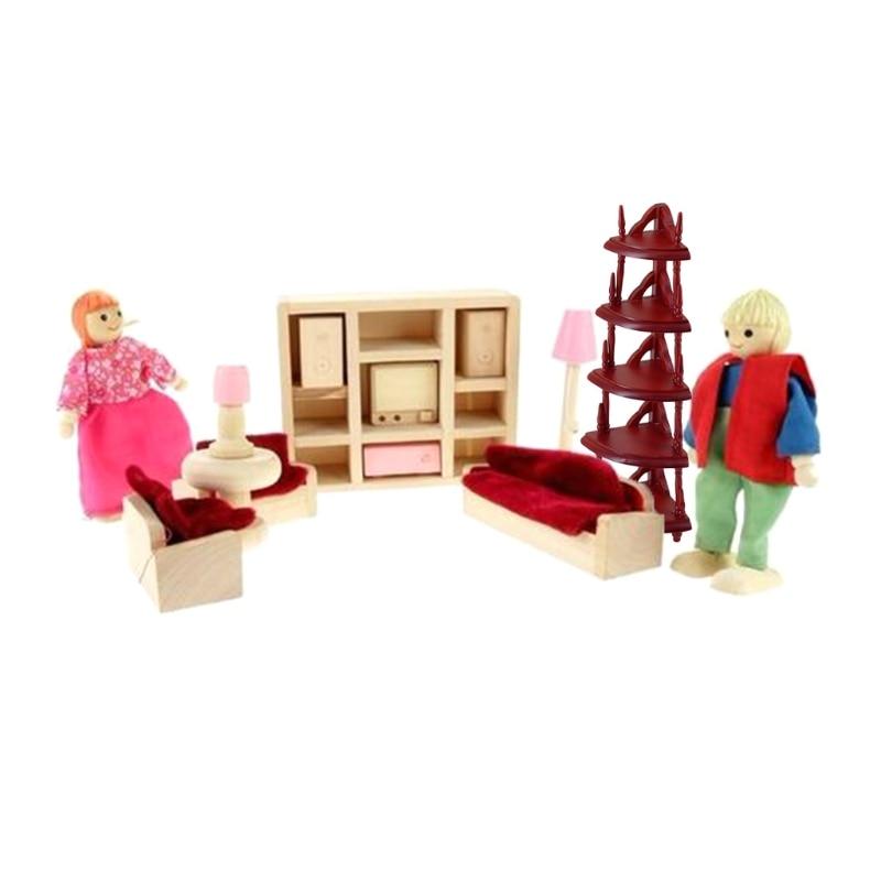 1/12 Mini Dollhouse Miniature Accessories Storage Shelf Model Kitchen Furniture