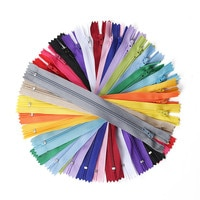 10 шт. 3-24 дюйма (7,5-60 см) нейлоновые молнии для портного шитья нейлоновые молнии оптом 20 цветов