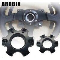 brobik 70mm steering wheel adapter plate for thrustmaster t300rs 599 p310r383 13 14 inch steering wheel repair parts