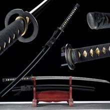 Real Handmade Japanese Katana 1060 High Carbon Steel Blade Full Tang Razor Sharpness For Cutting-Musashi Samurai Sword