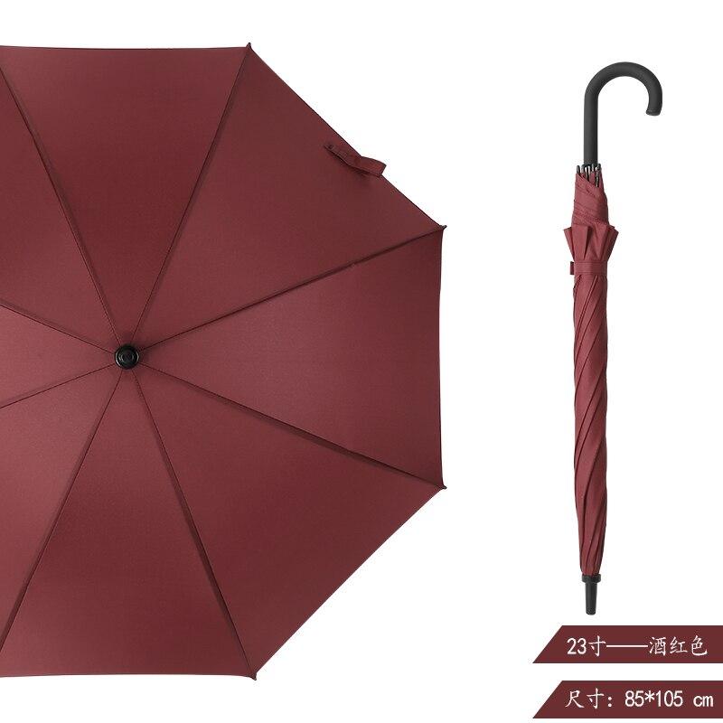 Large Outdoor Umbrella Waterproof Windproof Luxury Business Car Long Handle Umbrella Wedding Guarda Chuva Household Products 50 enlarge