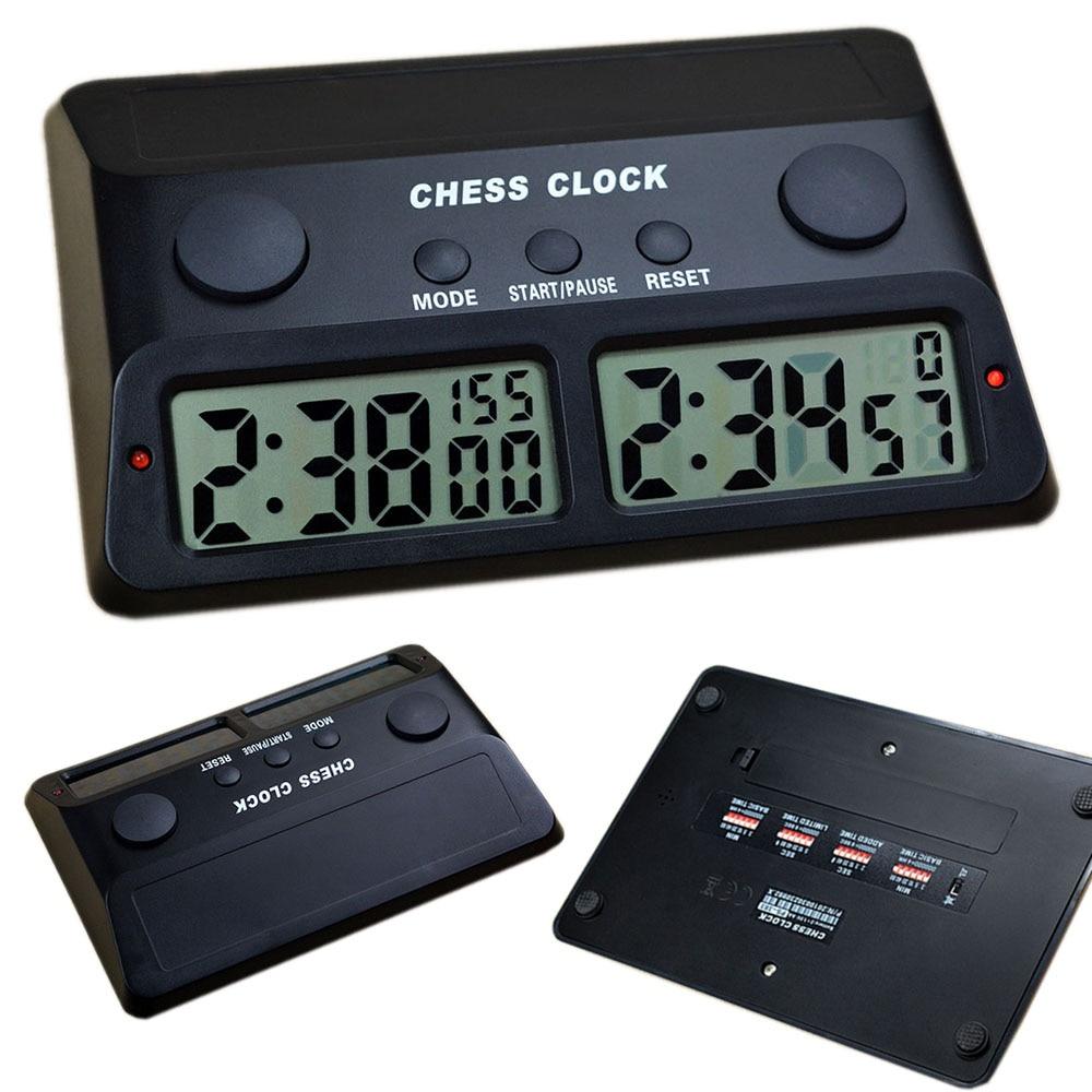ساعة شطرنج رقمية, إلكترونية ، جودة عالية ، لألعاب الشطرنج