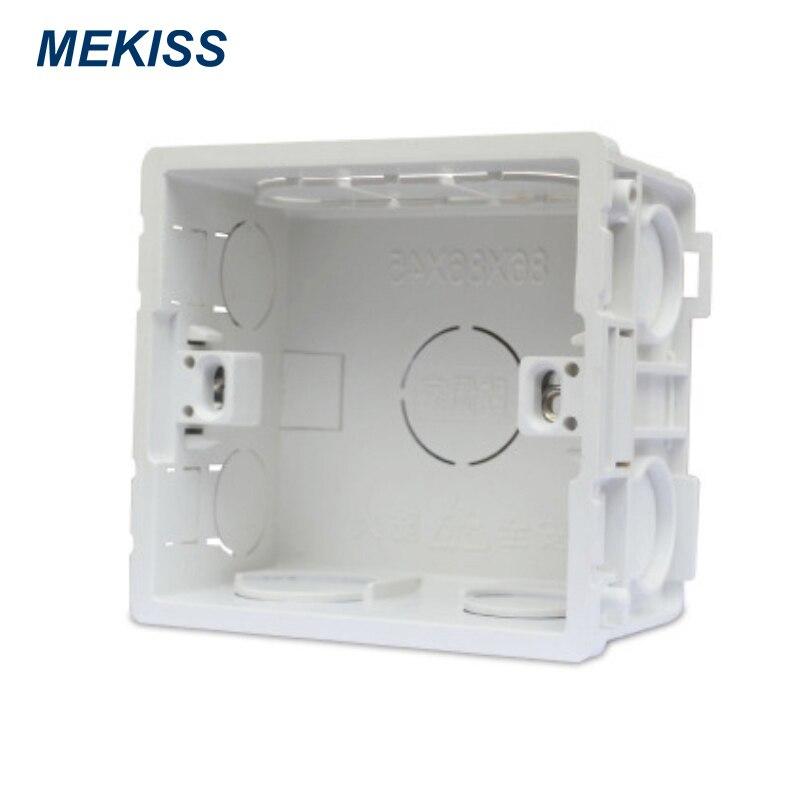 Interruptor MEKISS trunking interruptor de inicio montaje en pared cableado inferior trunking material ignífugo
